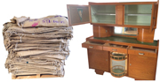 Meubles brut et matières à vendre