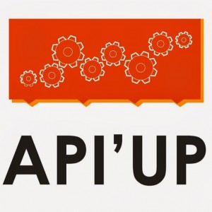 logo API'UP slogan